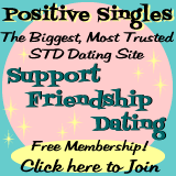 Positive Singles - the best & biggest anonymous STD dating site!